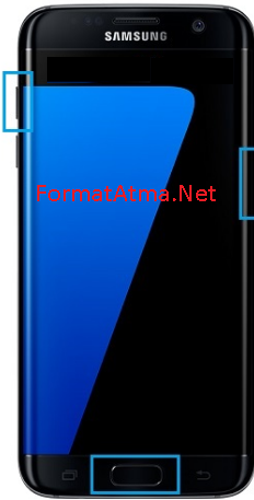 Samsung Galaxy Note 4 Replika format atma